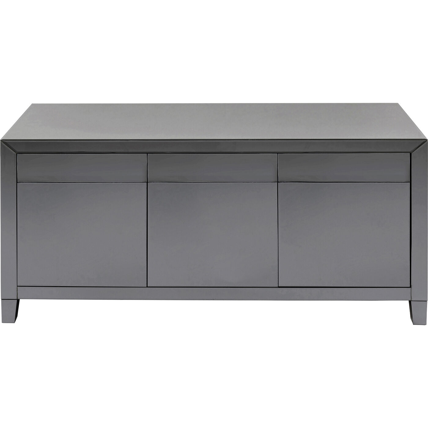 Sideboard Luxury Push Grau