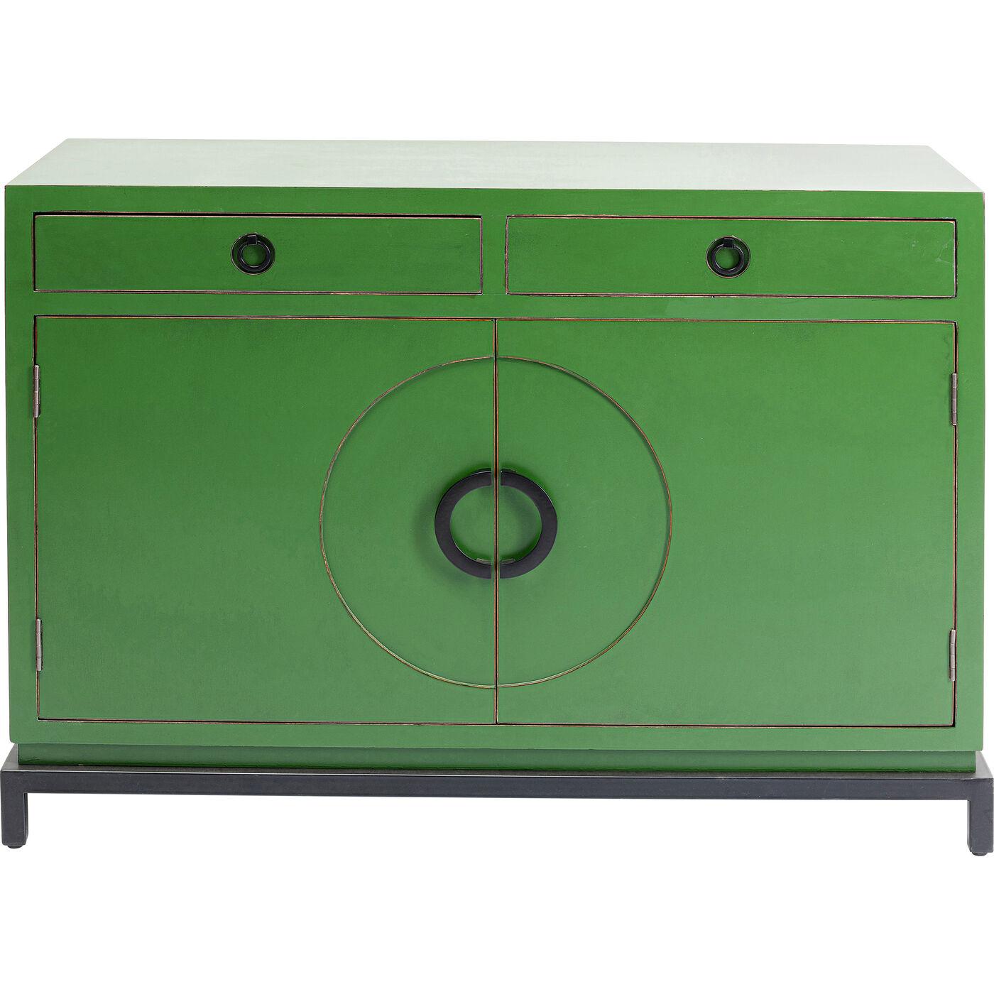 Sideboard Disk Grün 2 Türig