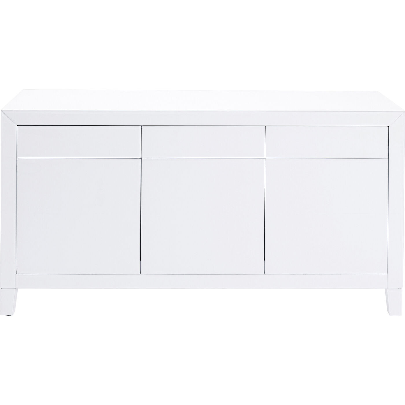 Sideboard Luxury Push Weiß