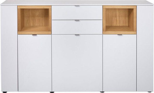 VENJAKOB Sideboard »Andiamo«, mit kontrastfarbenen Absetzungen, Breite 180 cm